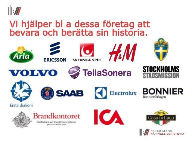 kända svenska företag