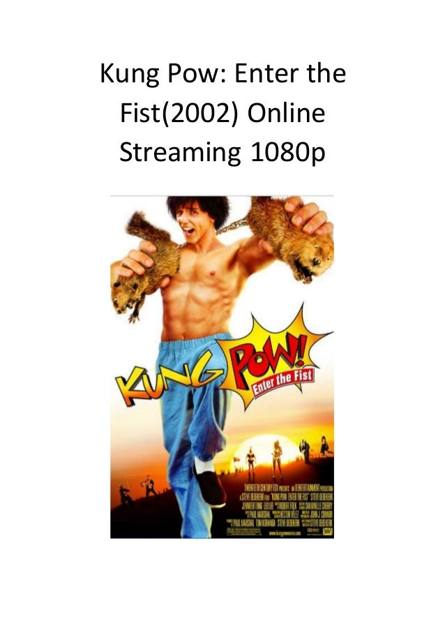 Kung pow enter the fist free online