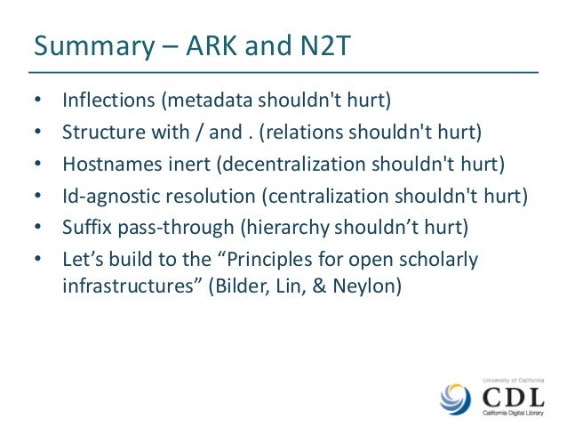 Names, Things, and Open Identifier Infrastructure: N2T and ARKs