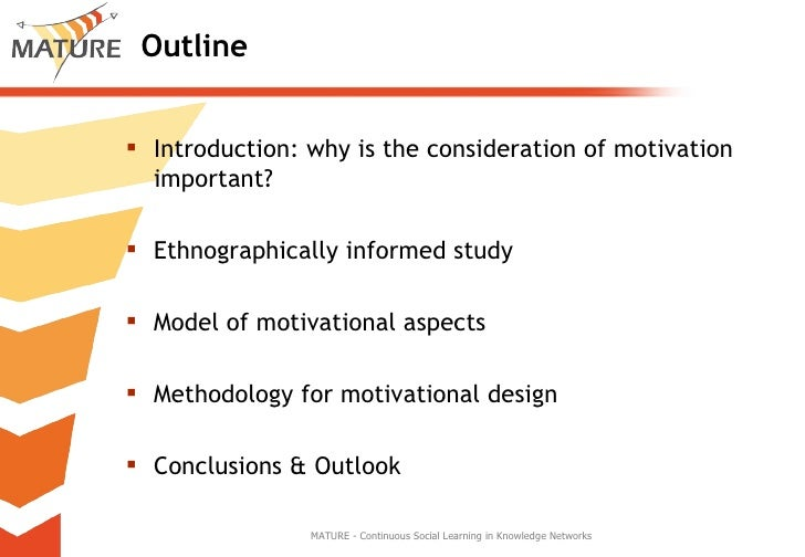 Integrating Motivational Aspects into the Design of Learning Support in Organization Slide 2
