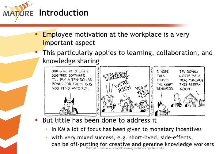 Integrating Motivational Aspects into the Design of Learning Support in Organization Slide 3