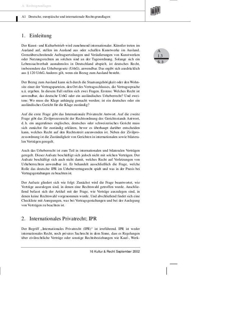 Oelkers: Internationales Privatrecht – Die Rechtswahl – Vertragsauslegung und Vertragsgestaltung Slide 3
