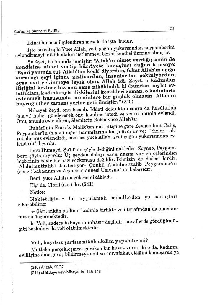 Kuran Ve SüNnette Evlilik Dr Muhammed Ebun Nur 101 200 Slide 3