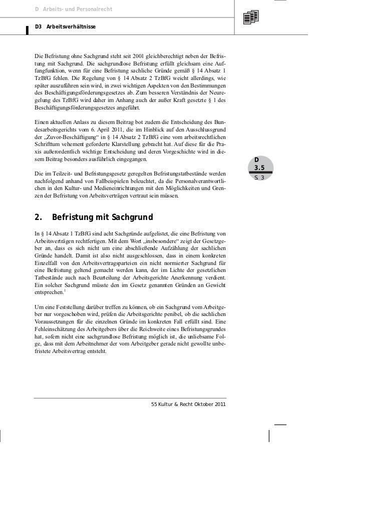 Röckrath: Leitfaden für die Befristung von Arbeitsverträgen anhand von Fallbeispielen Slide 3