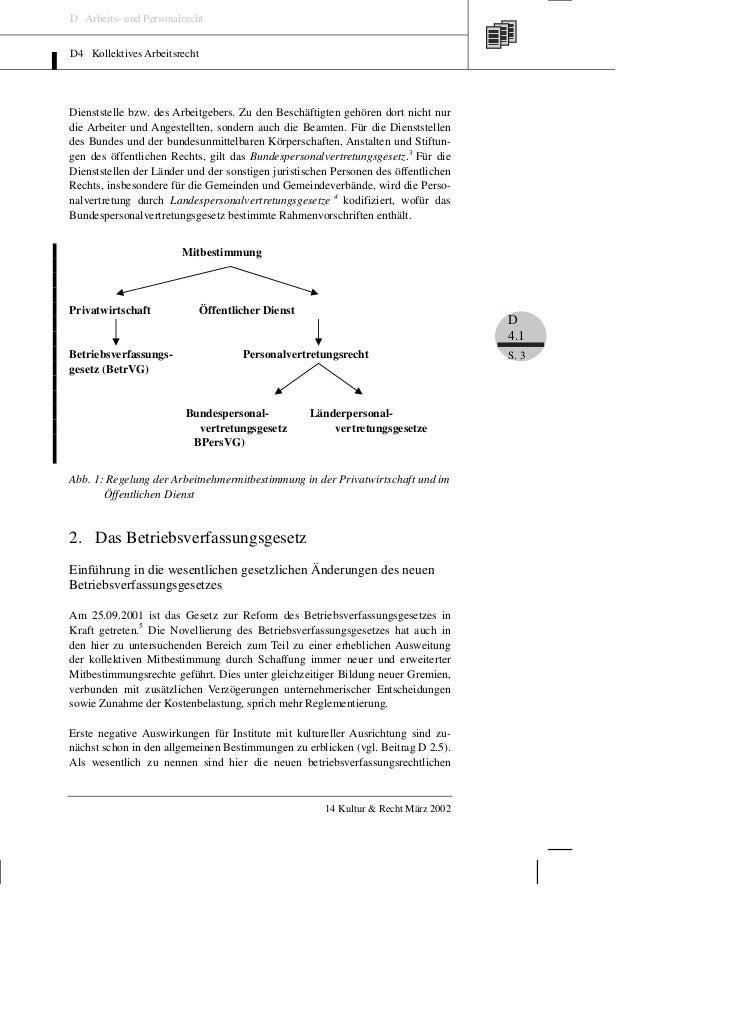 D Arbeits- und PersonalrechtD4 Kollektives ArbeitsrechtDienststelle bzw. des Arbeitgebers. Zu den Beschäftigten gehören do...