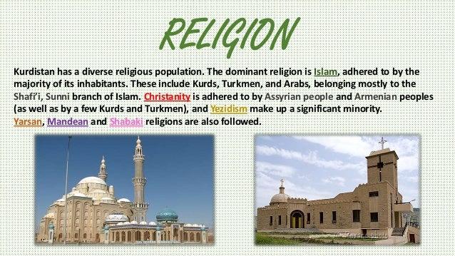 What is the Kurdish religion?