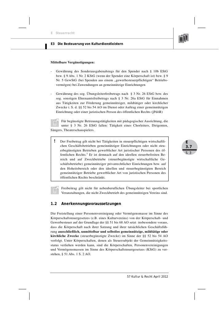 Mandy Risch, Andreas Kerst: Die steuerbegünstigte Vermögensverwaltung gemeinnütziger Kultureinrichtungen Slide 3