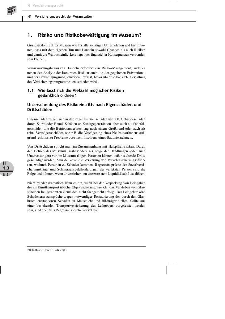 von Bieler: Versicherungsschutz für Museen Slide 2