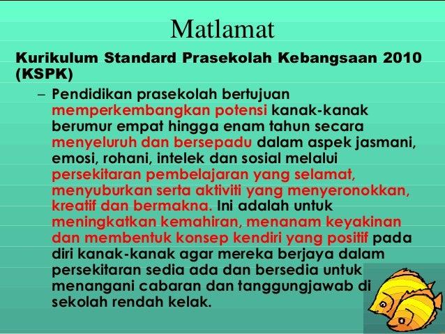 Kurikulum Standard Prasekolah Kebangsaan