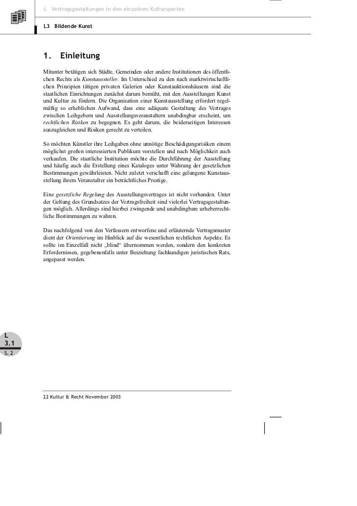 Fischer Reich Der Ausstellungsvertrag Was Leihgeber Und Aussteller