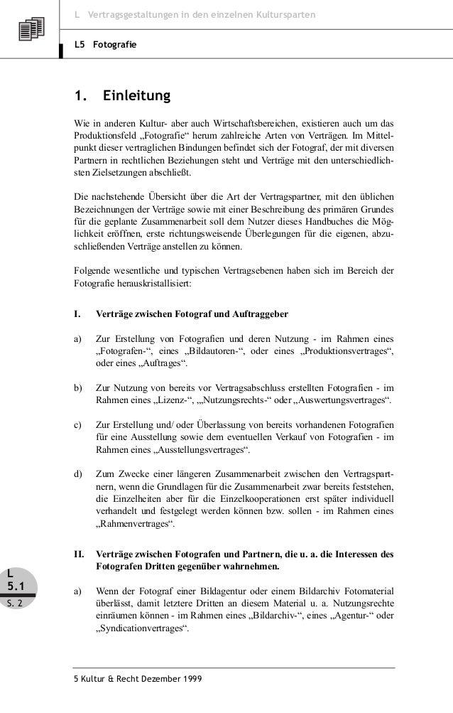 Dr Achim Gmilkowsky Vertragsgestaltung Für Fotografen Teil 1