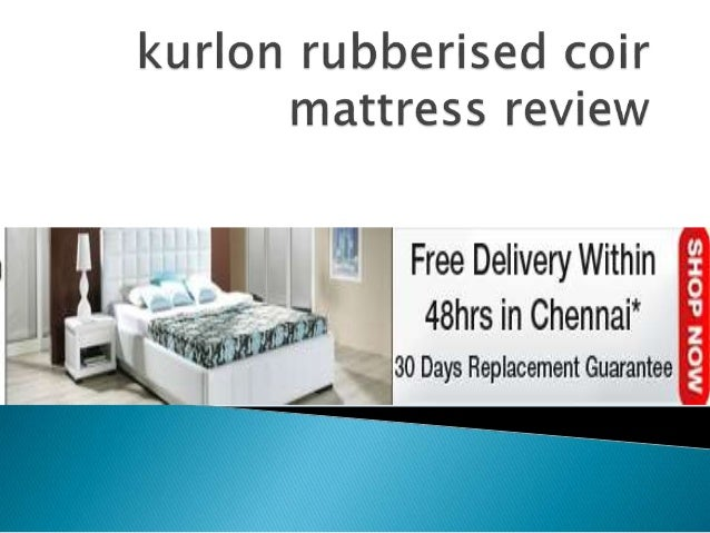  Shop Online Kurlon Mattress - Rubberised Coir Apsara 4 Inch for your home at Best Prices. Comfortable mattress for sound...