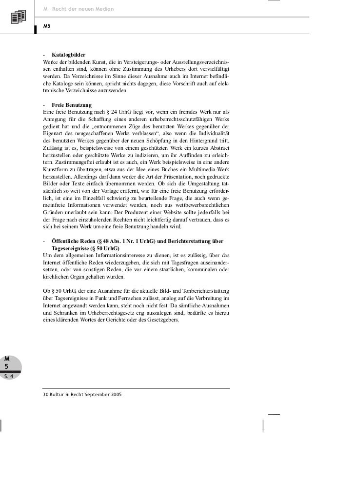M Recht der neuen Medien       M5       - Katalogbilder       Werke der bildenden Kunst, die in Versteigerungs- oder Ausst...