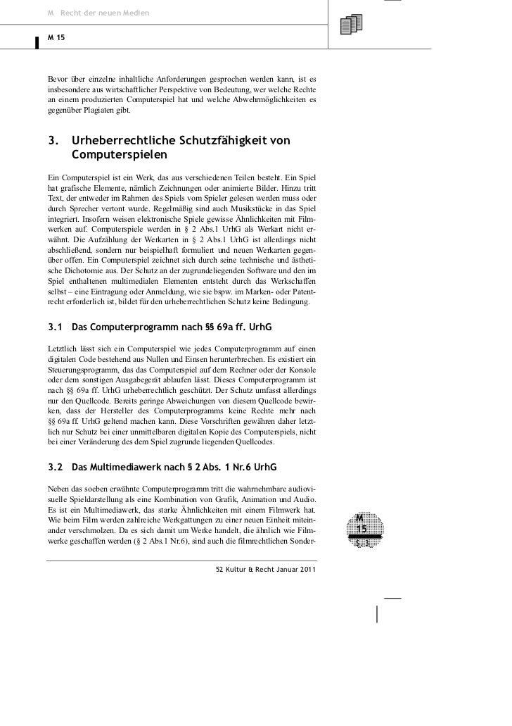 M Recht der neuen MedienM 15Bevor über einzelne inhaltliche Anforderungen gesprochen werden kann, ist esinsbesondere aus w...