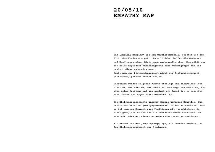 20/05/10 >> empatHY map                           Sorgen                           neben seinen Wünschen hat unser Student...
