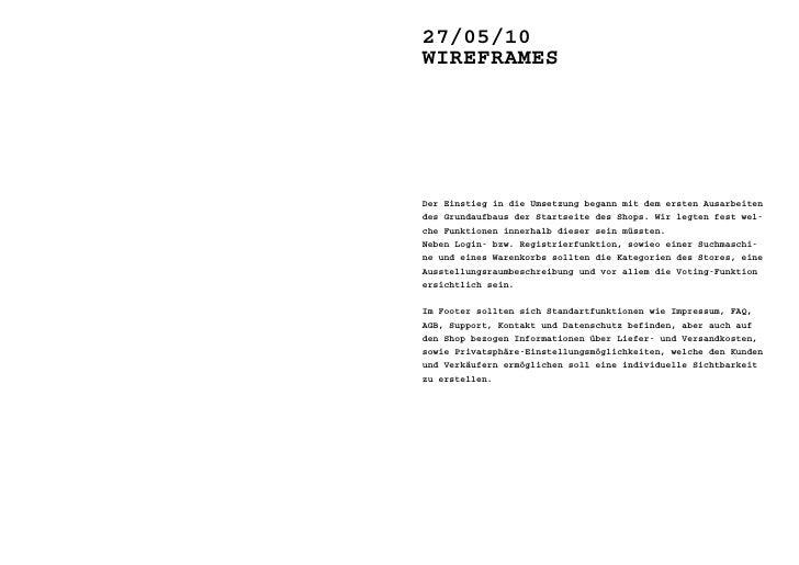 10/06/10 >> WiReFRames                          Startseite zunächst nur die Suchfunkti-                          on, das l...
