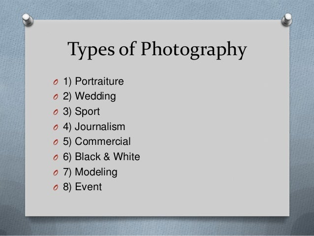 types of photography shots pdf