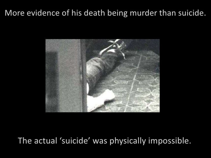 possible causes for the suicide of kurt Kurt audenaert  kees van heeringen suicide among adolescents a psychological autopsy study of psychiatric, psychosocial  the most informative method of studying the causes of suicide [21, 35] psychological autopsy studies consist  about possible risk factors for suicide.