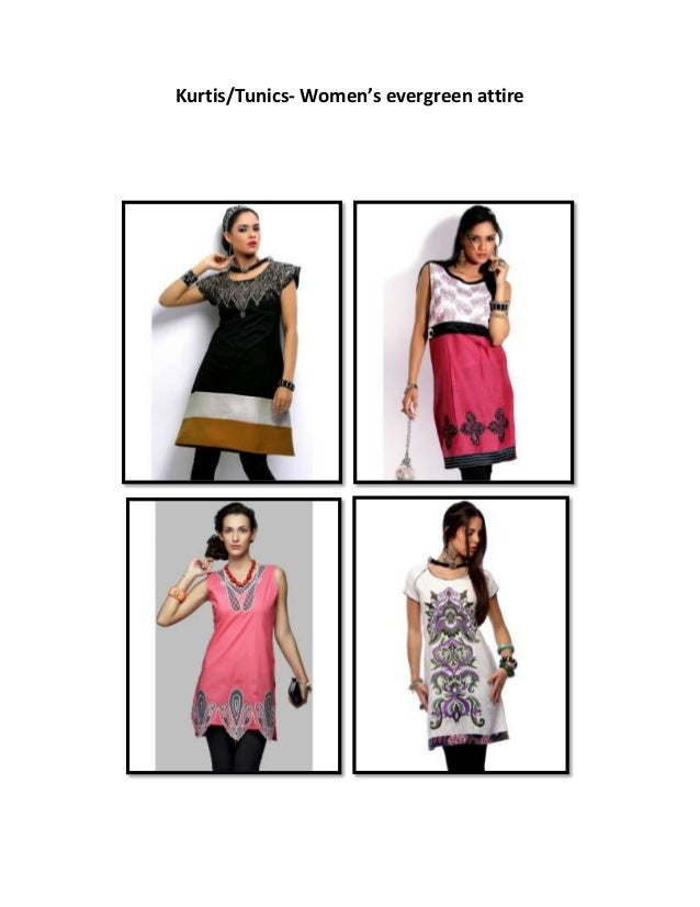 Kurtis/Tunics- Women's evergreen attire