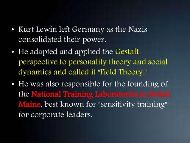 kurt lewin group dynamics theory pdf