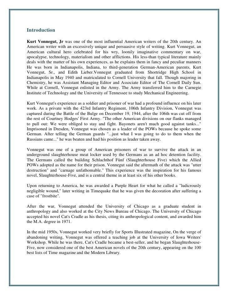 Kurt Vonnegut bibliography