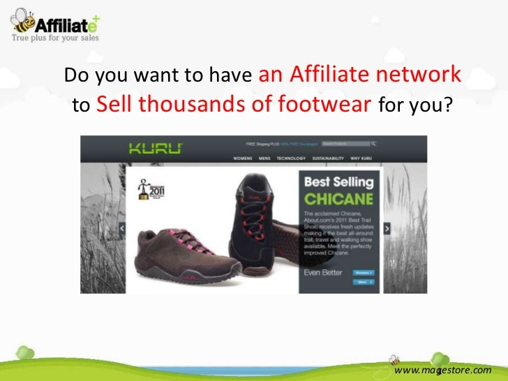 Do you want to have an Affiliate network to Sell thousands of footwear for you?                                 www.magest...