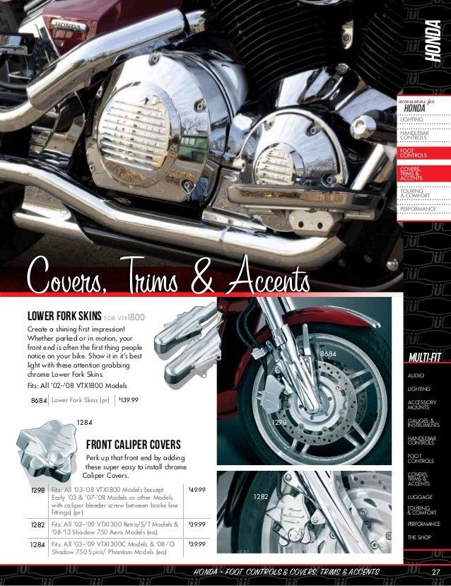 Kuryakyn 4047 Shift Peg Cover Honda VTX1300 Retro