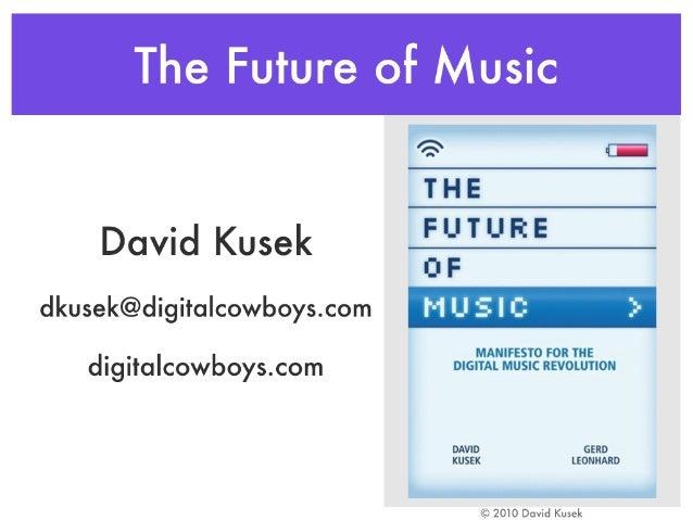 Kusek keynote