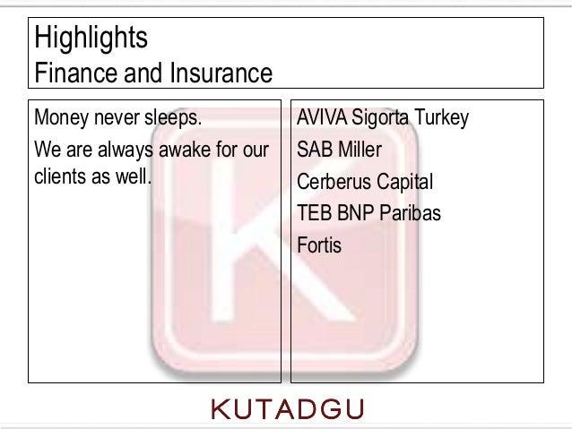 HighlightsFinance and InsuranceMoney never sleeps.           AVIVA Sigorta TurkeyWe are always awake for our   SAB Millerc...