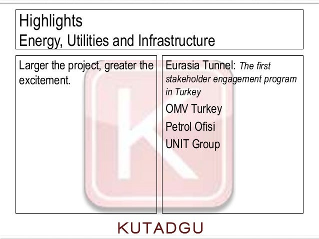 HighlightsEnergy, Utilities and InfrastructureLarger the project, greater the Eurasia Tunnel: The firstexcitement.        ...