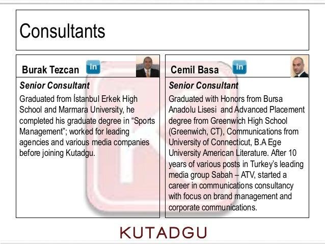 ConsultantsBurak Tezcan                               Cemil BasaSenior Consultant                          Senior Consulta...