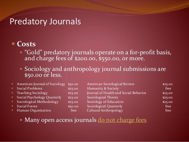 Journals, Open Access and Predators: Mentoring Junior Colleagues thro…
