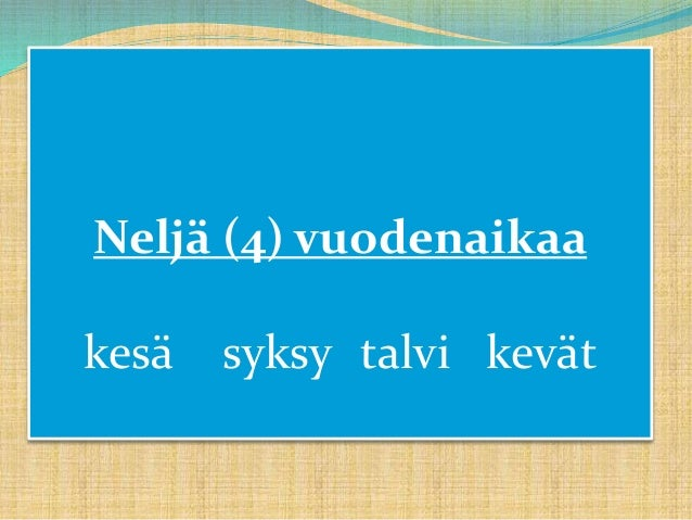 Suomen Kuukaudet