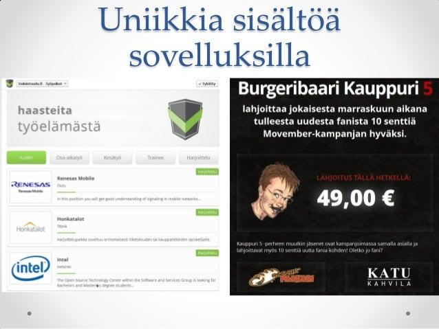 facebook suomi käyttöohjeet Kajaani