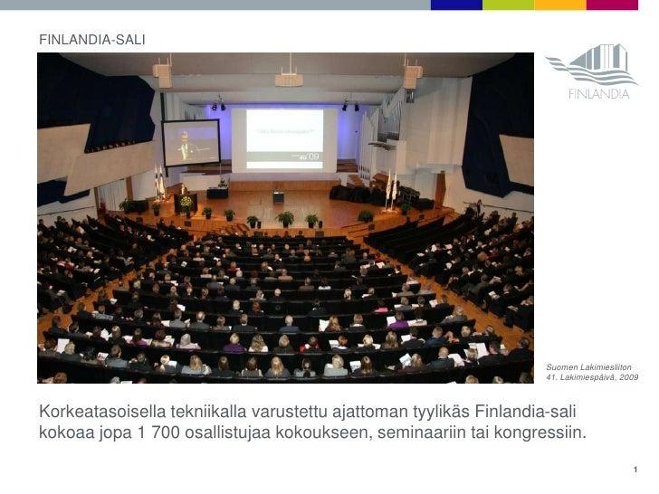 Finlandia Talo Sisältä