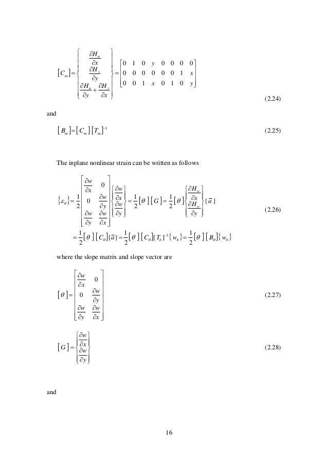 16                                          yx x y x H y H y H x H C vu v u m 010...