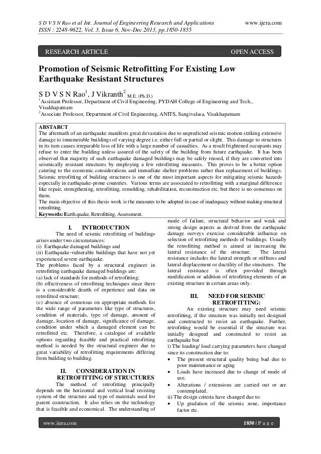 S D V S N Rao et al Int. Journal of Engineering Research and Applications  www.ijera.com  ISSN : 2248-9622, Vol. 3, Issue ...