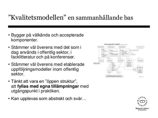 Kvalitetsbygget från teori till verklighet (Skapa byggstenar och se helheter i gamla, inarbetade tjänster.) Slide 2