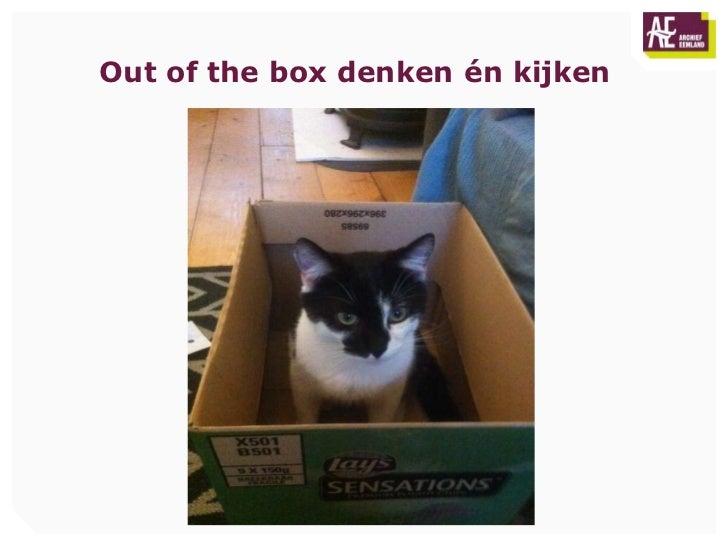 Out of the box denken én kijken