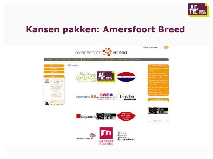Kansen pakken: Amersfoort Breed