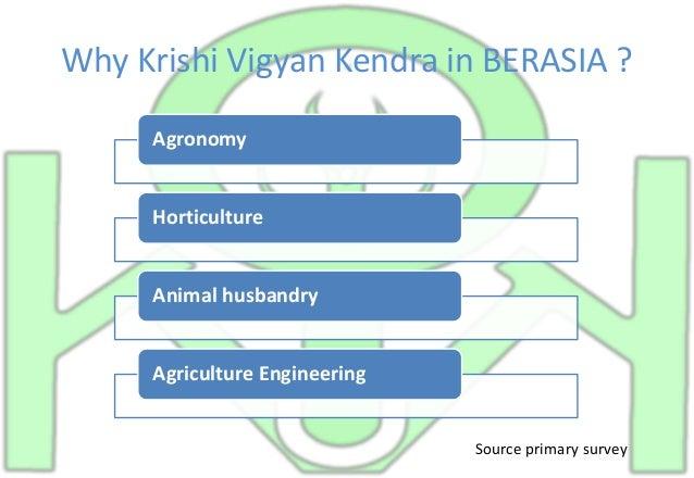 KRISHI VIGYAN KENDRA PROPSAL case study Slide 2