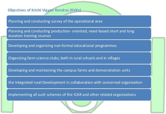 KRISHI VIGYAN KENDRA PROPSAL case study Slide 3