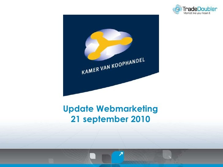 Update Webmarketing<br />21 september 2010<br />