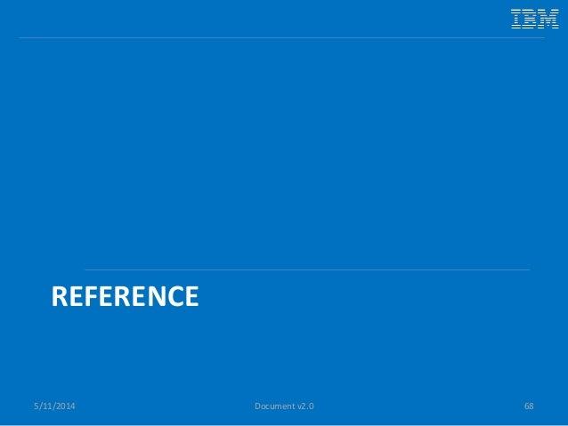 REFERENCE 5/11/2014 68Document v2.0