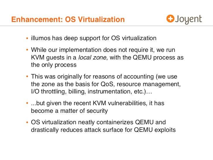Experiences porting KVM to SmartOS