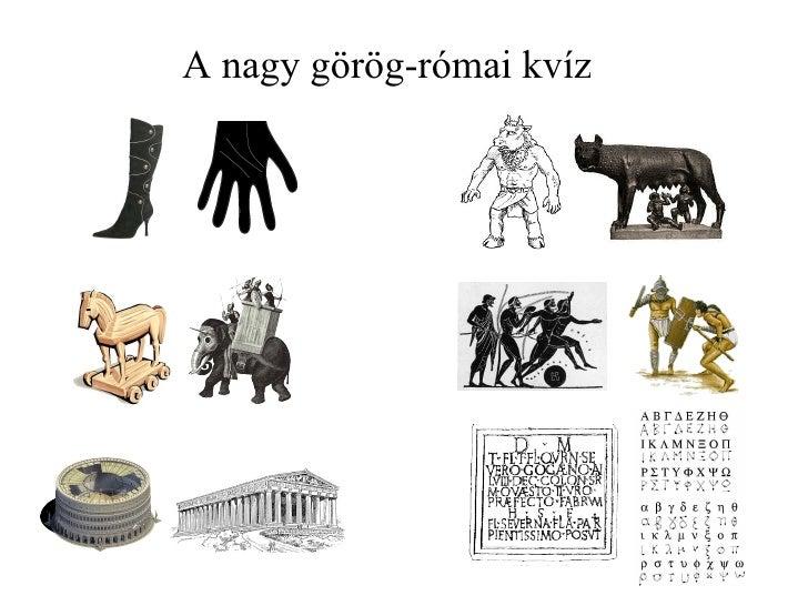 A nagy görög-római kvíz