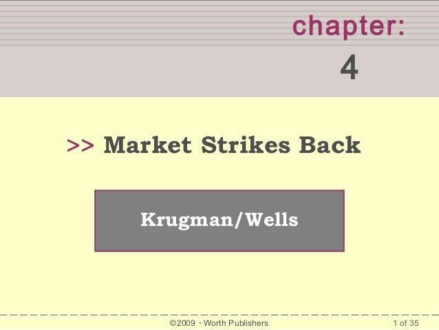 chapter:  SUMMARY  4 >> Market Strikes Back Krugman/Wells  ©2009  Worth Publishers  1 of 35