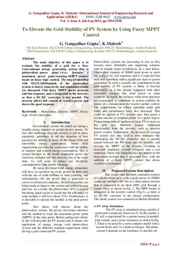 G. Gangadhar Gupta, K. Mahesh / International Journal of Engineering Research and Applications (IJERA) ISSN: 2248-9622 www...