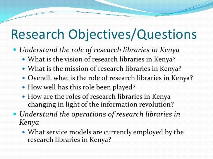 Research Jobs in Kenya