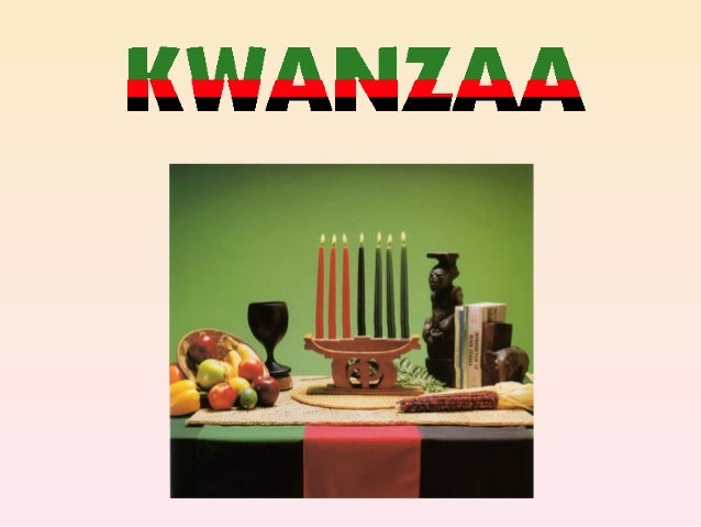 Kwanzaa is based onideas borrowed fromAfrica. This was anancient Swahili seven-day-long festival.